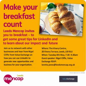 LinkedIn networking, Networking, Leeds Mencap Business Networking Event