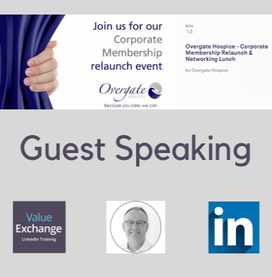 Overgate Hospice, Corporate membership relaunch event