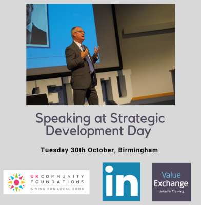 UK Community Foundations Strategic Development Day