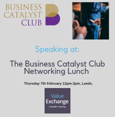 The Business Catalyst Club Networking Lunch