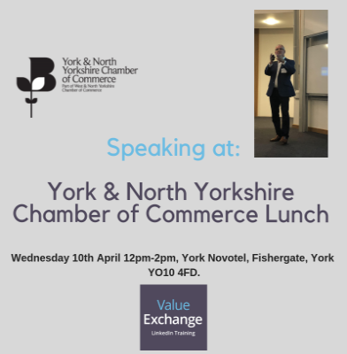 York and North Yorkshire Chamber of Commerce Lunch