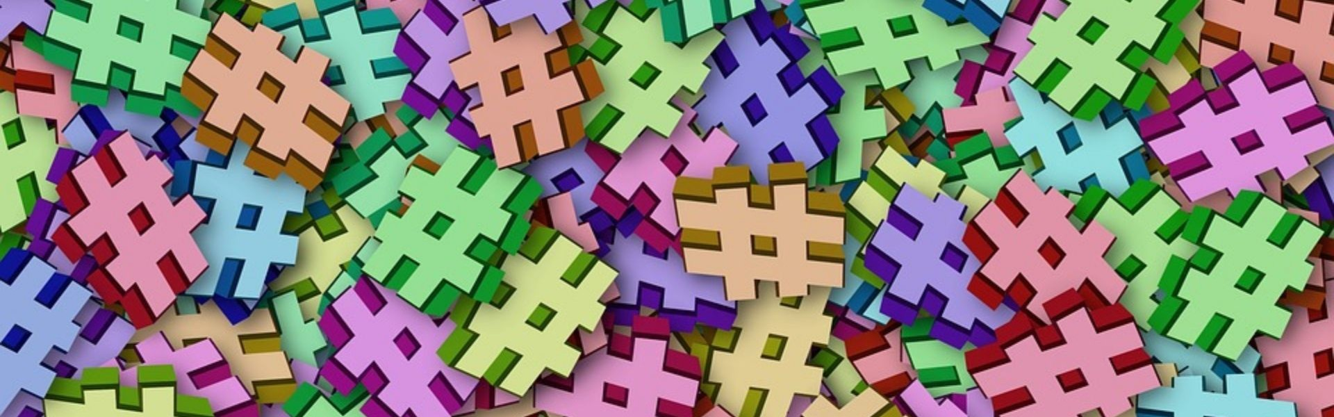 how to search hashtags on LinkedIn