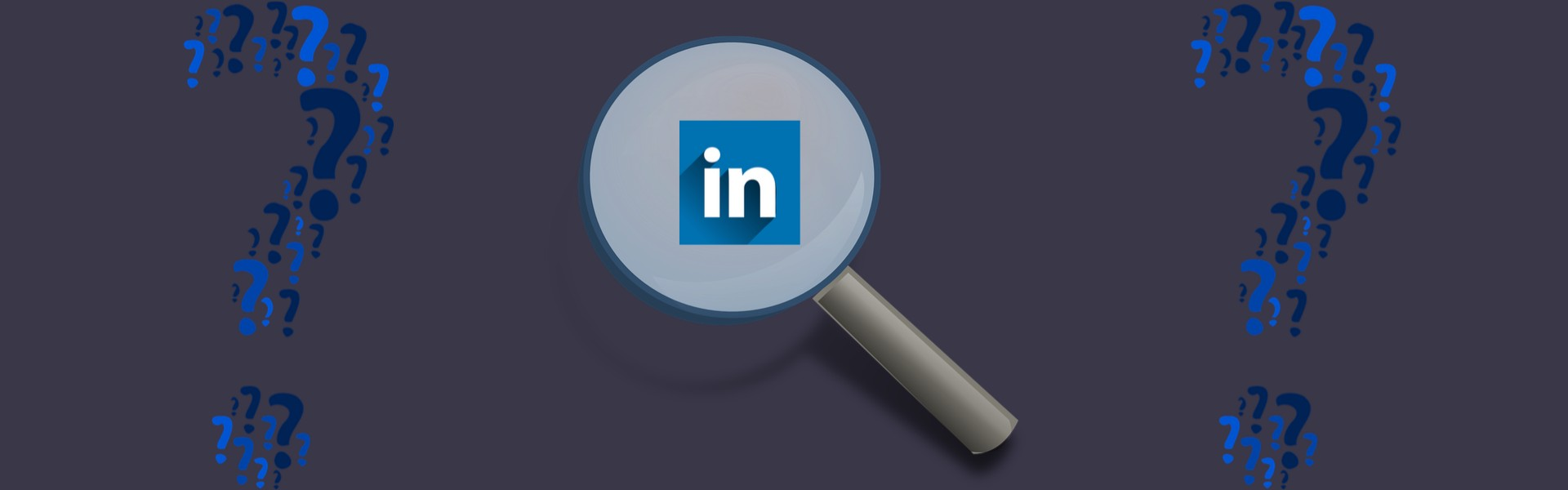 What does found you via LinkedIn search mean