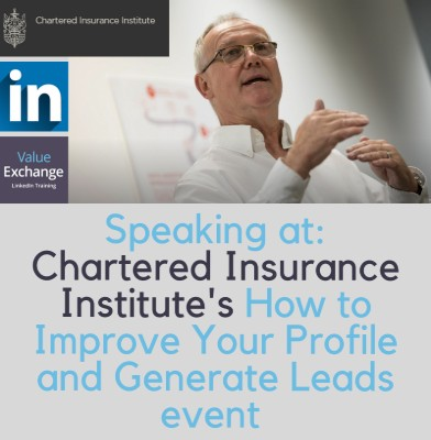 Chartered Insurance Institute how to improve your profile and generate leads
