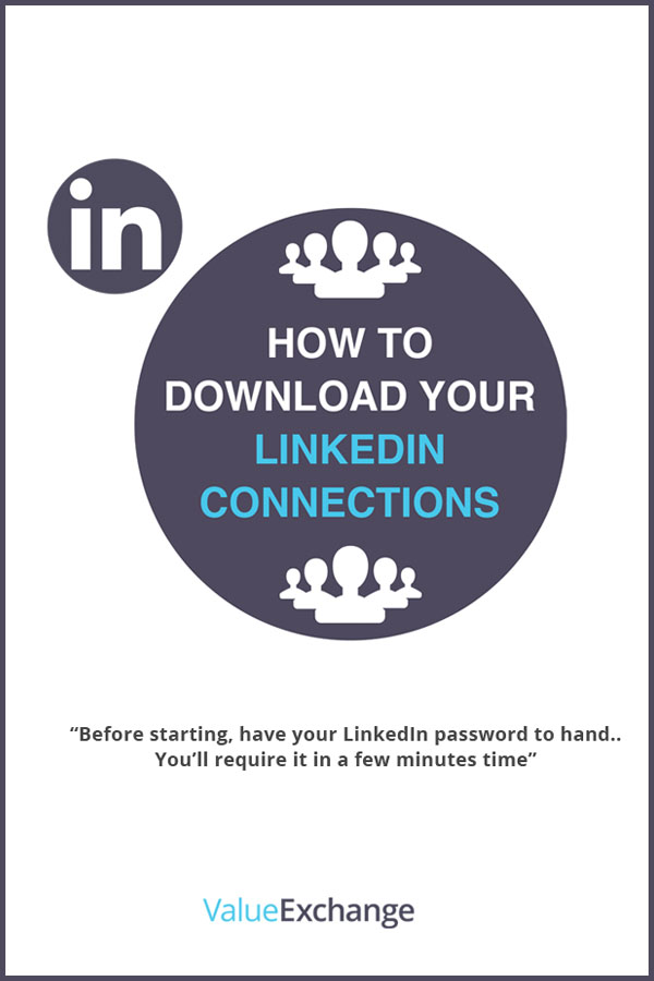 How to Download Your LinkedIn Connections by Nigel Cliffe