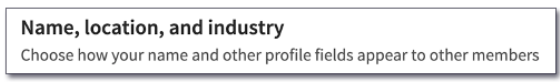 How to Access LinkedIn Industry Sectors List