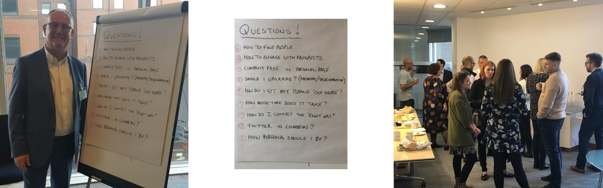 LinkedIn Questions from LinkedIn Learning Lunch with Nigel Cliffe