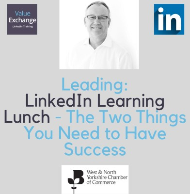 West and North Yorkshire Chamber of Commerce LinkedIn Learning Lunch