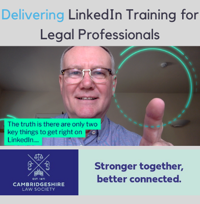LinkedIn Training for Legal Professionals by Nigel Cliffe