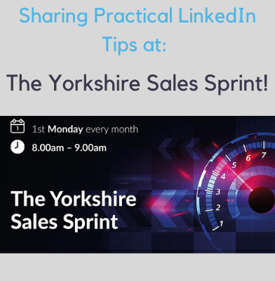 Nigel Cliffe is speaking at The Yorkshire Sales Sprint on 12th April 2021