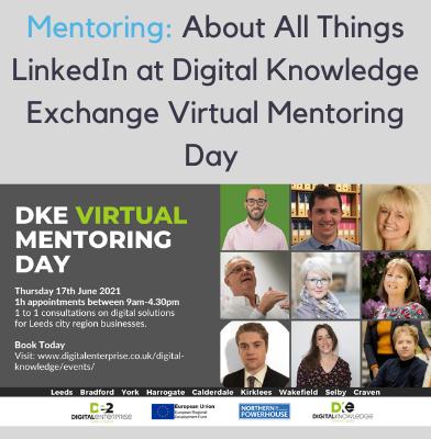Digital Knowledge Exchange Virtual Mentoring Day
