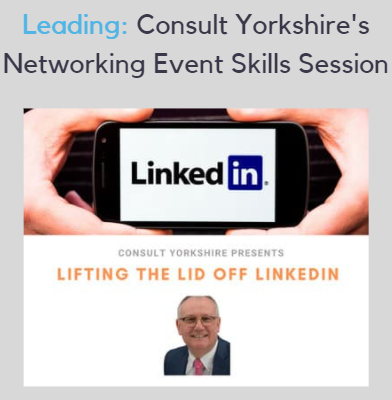 Consult Yorkshire's Lifting the Lid Off LinkedIn session with Nigel Cliffe event image