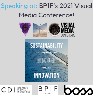 Nigel Cliffe is speaking at the BPIF's 2021 Visual Media Conference 21st - 23rd September